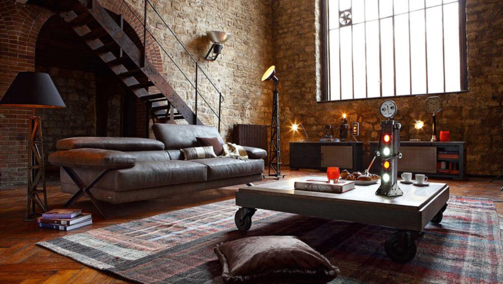 Modern Industrial Interior Design - IANIKO