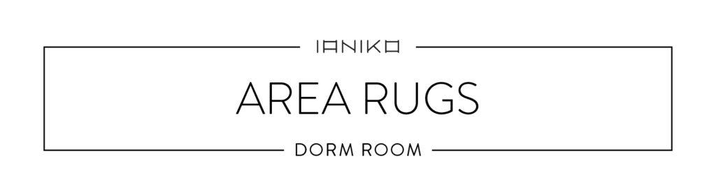 Minimalist Dorm Room - Area Rugs