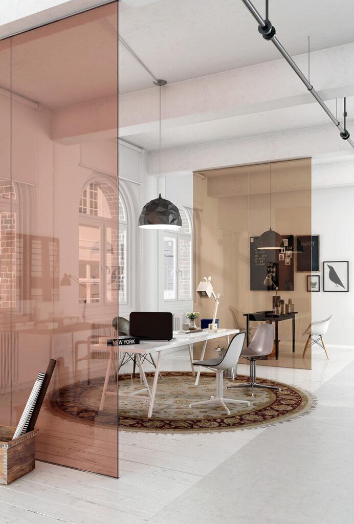 ianiko - Interior Decor Trends 2021 Colored Glass Screens