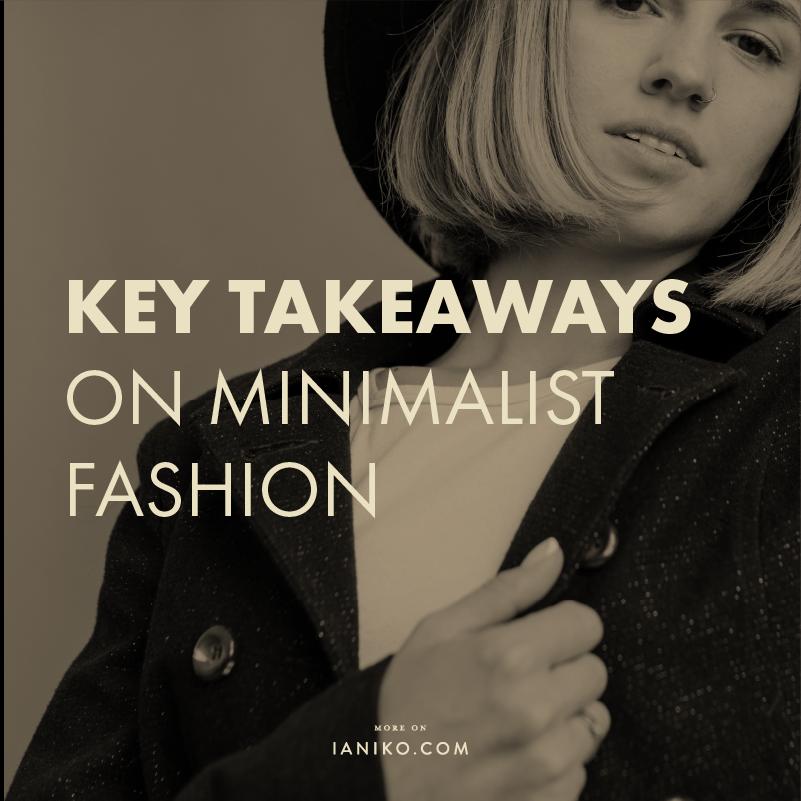 Minimalist fashion - IANIKO