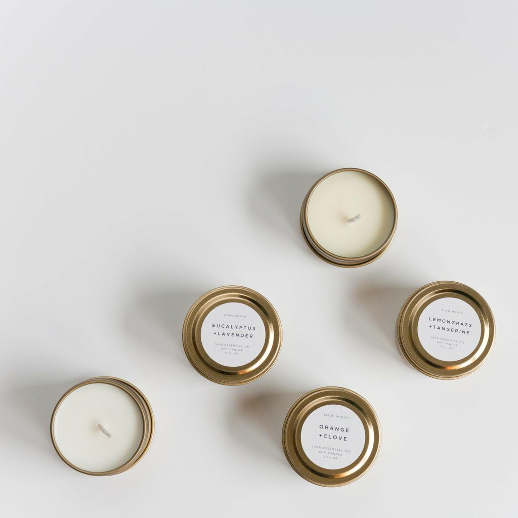 Non-Toxic Scented Candle Brands - Slow North