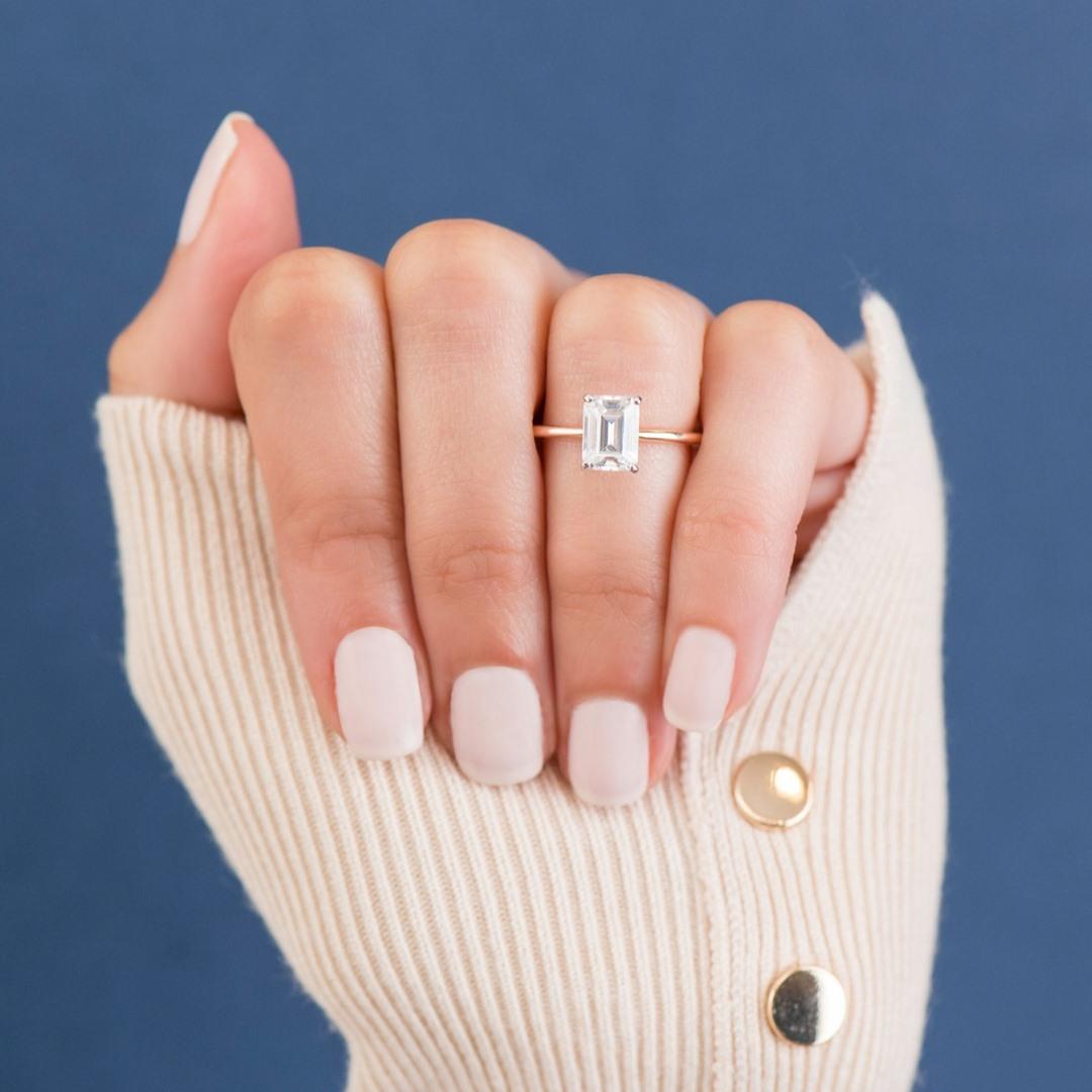 Conflict-Free Minimalist Engagement Ring Brands - Clean Origin