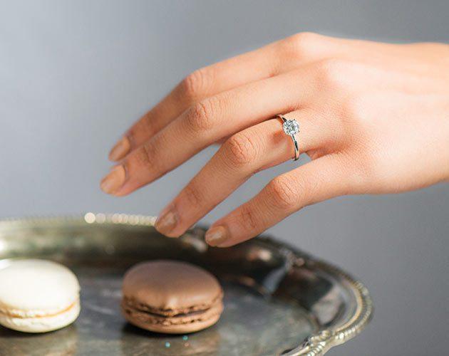 Conflict-Free Minimalist Engagement Ring Brands - James Allen