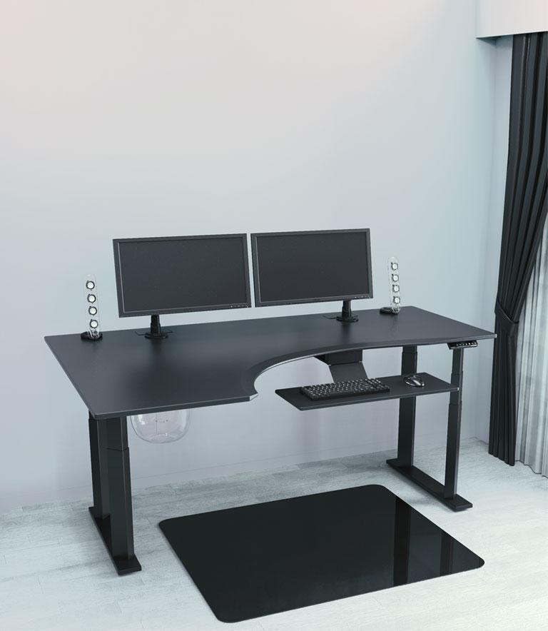 Best Minimalist Standing Desks & Desk Converters - Evodesk Single Level Desktop