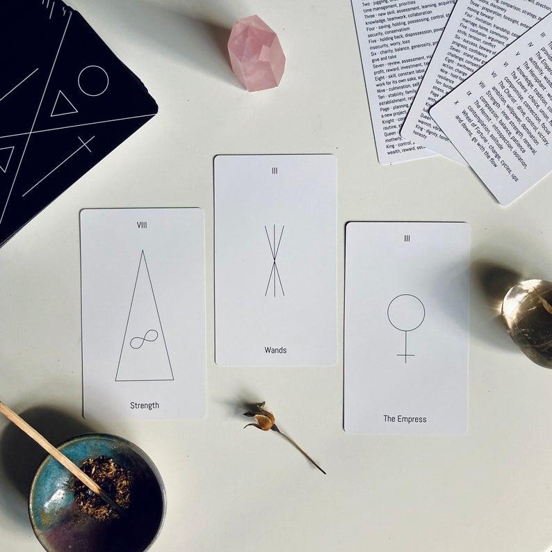 Minimalist Tarot Cards - Minimalist Tarot Deck – 2021 Edition