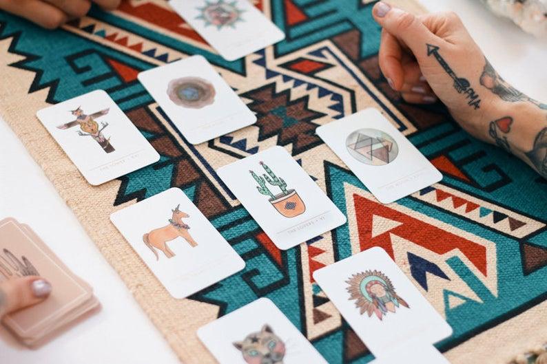 Minimalist Tarot Cards - Minimalist Water Color Tarot Card Deck