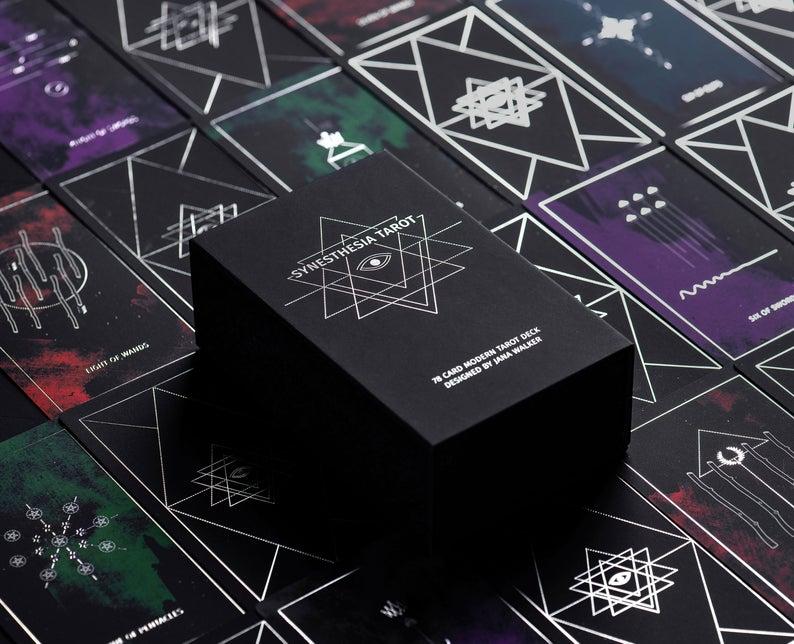 Minimalist Tarot Cards - Synesthesia Tarot Deck