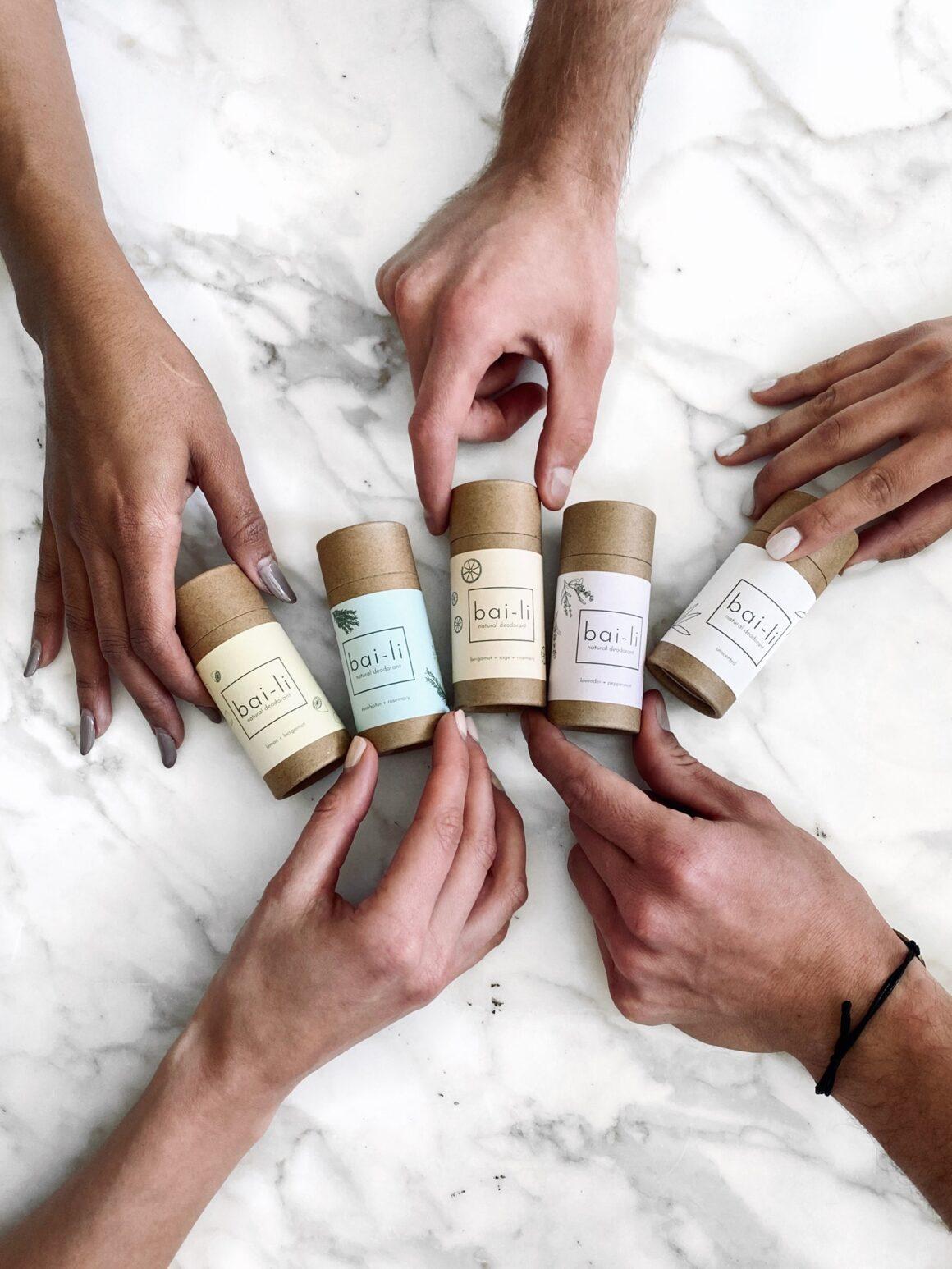 The Best All-Natural and Organic Deodorants - Bai-Li