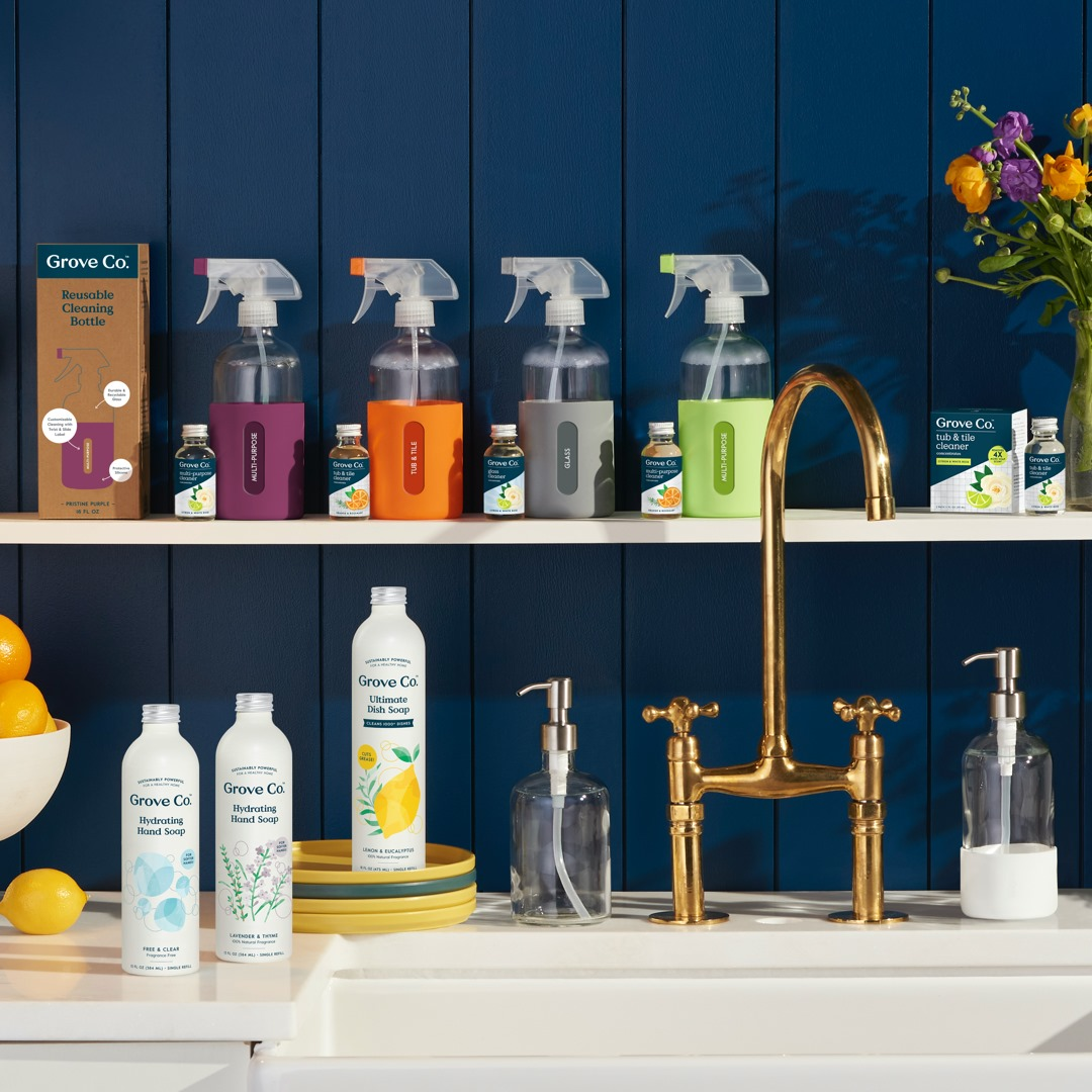The Only List of Non-Toxic Cleaning Products You Need - Grove